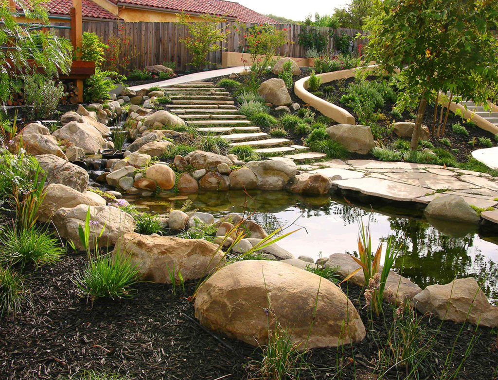 Relaxing Landscapes With Water Features