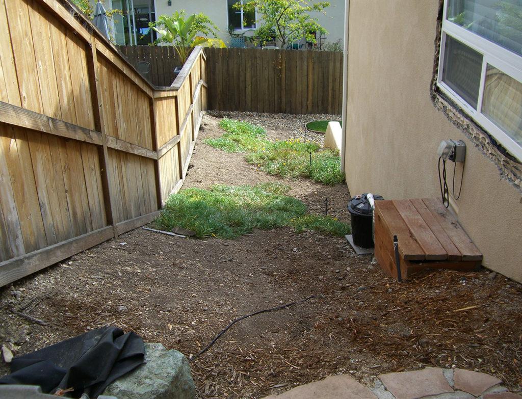 Sideyard Remodel 1